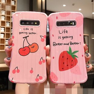 Cute Strawberry Samsung Curve Small Waist Phone Case NHDV157762's discount tags