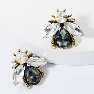 Alloy studded bee stud earrings NHJE157791's discount tags