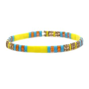 Fashion new woven TILA rice beads bracelet NHGW157811's discount tags