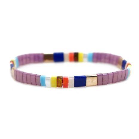 Fashion TILA Bead Braided Bracelet NHGW157819's discount tags