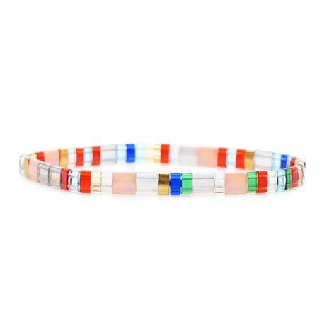 Import TILA bead woven bracelet NHGW157820's discount tags