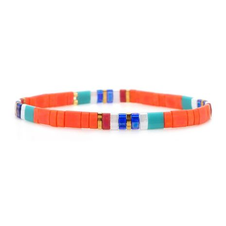 Handmade DIY imported rice beads woven bracelet NHGW157822's discount tags