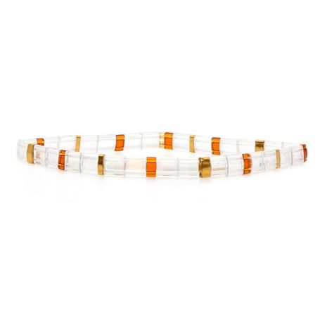 New TILA beads woven imported rice beads bracelet NHGW157823's discount tags