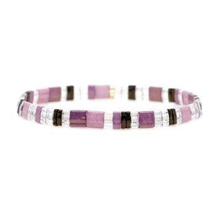 New Miyuki TILA Rice Bead Braided Bracelet NHGW157824's discount tags