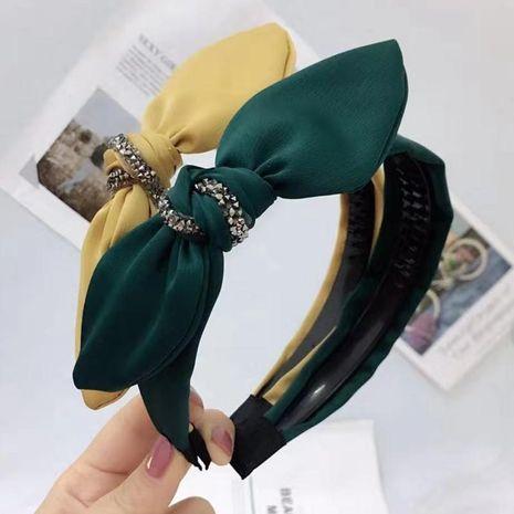 New bow knotted rhinestone headband NHRH157877's discount tags