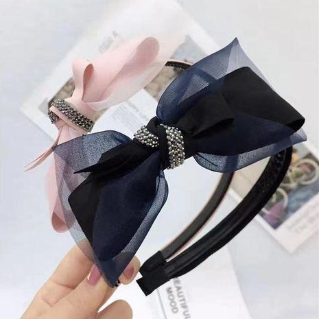 New mesh with diamond headband NHRH157893's discount tags