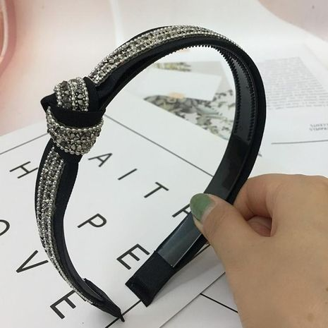 Fashion diamond-encrusted hair band NHRH157895's discount tags