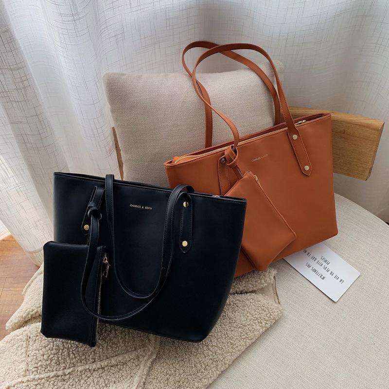 Korean version of the simple shoulder casual handbag NHLD157982