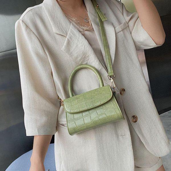 Fashionable stone stone small square bag NHLD158066
