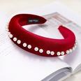 NHDM398187-Red-velvet-pearl-headband
