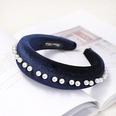 NHDM398190-Navy-blue-velvet-pearl-headband