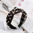 NHDM398419-Coffee-velvet-+-nail-pearl-headband