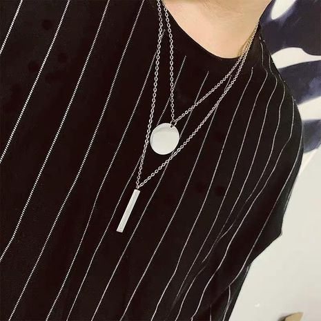 Punk trend wild autumn and winter play cool sweater chain necklace NHYQ158118's discount tags