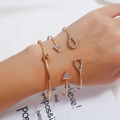 Handmade Hanging Geometric Lady 3 Set Bracelet NHKQ158164's discount tags