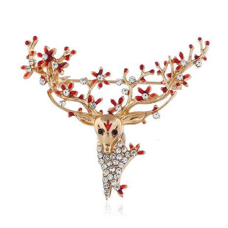 Pin de aleación de piedras preciosas artificiales de moda NHKQ158227's discount tags