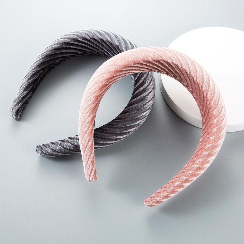 Fashion flannel cloth thick sponge cloth headband NHLN158258