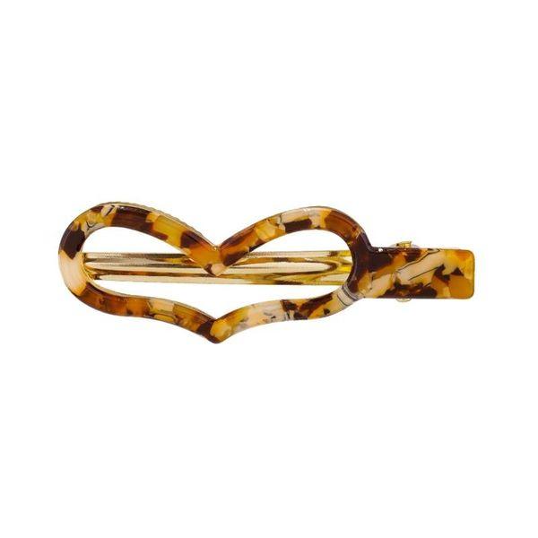 Stylish acetate sheet edge clip alloy hair accessories NHKC158265