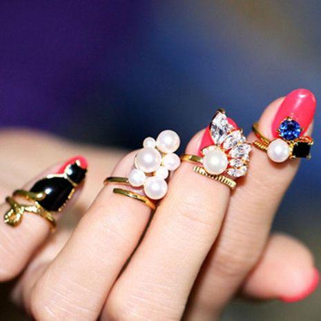 Korean drip nail decoration joint ring NHDP158285's discount tags