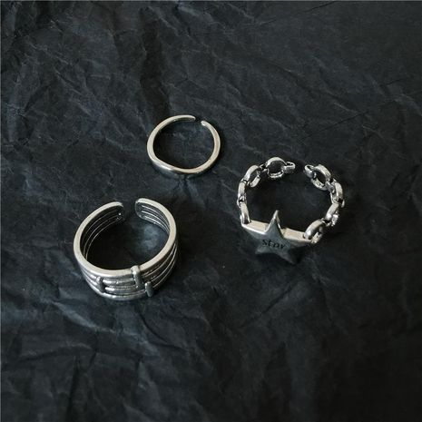 Punk style hip-hop cool alloy ring NHYQ158290's discount tags