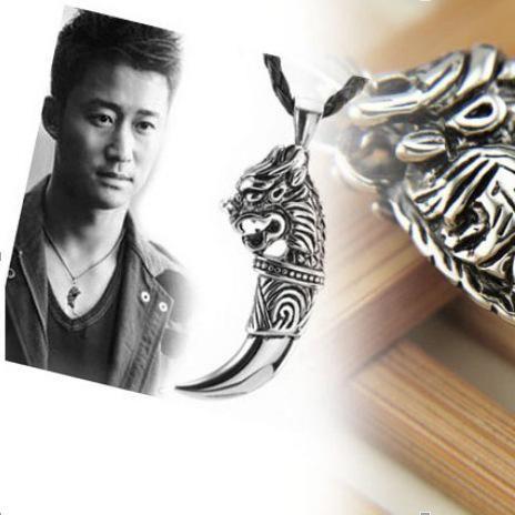 Korean fashion love couple titanium steel necklace NHDP158304's discount tags