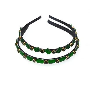 Fashion rhinestone alloy 2019 new headband NHNT158364's discount tags