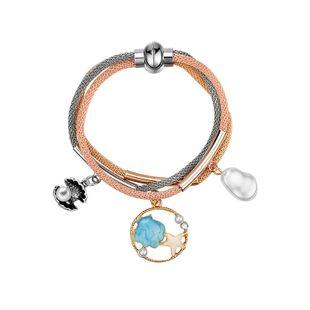 Fashion Fringe Pearl Ocean World Environmentally Friendly Zinc Alloy Bracelet NHXS158377's discount tags