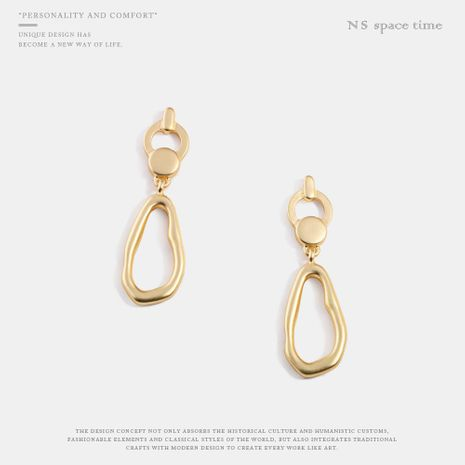 Fashion temperament personality alloy female earrings NHQS158503's discount tags