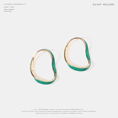Simple pop drop oil alloy earrings NHQS158506's discount tags