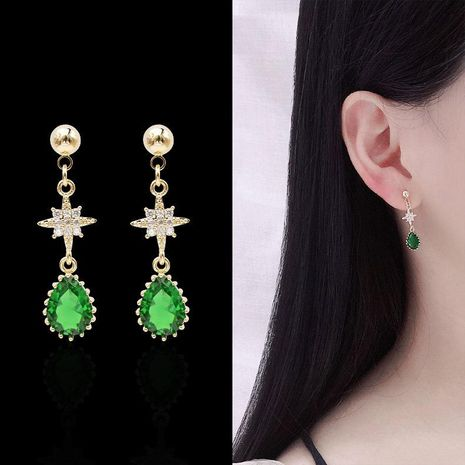 Fashion niche personality personality rice star earrings NHDO158537's discount tags