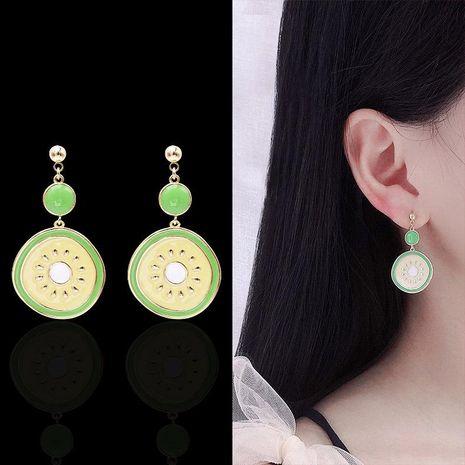 Womens Fruit Drops Copper Earrings NHDO158548's discount tags