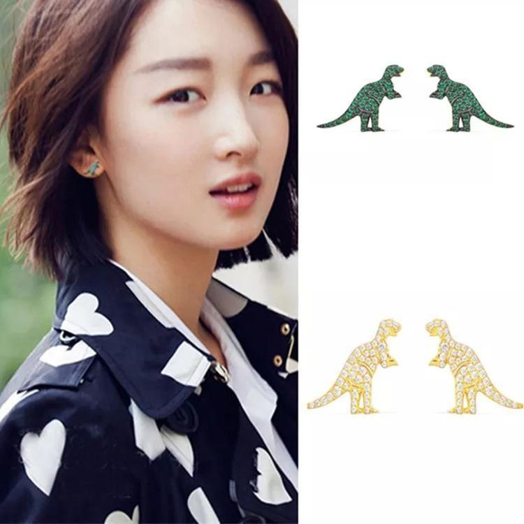 Fashion personality 925 sterling silver needle earrings NHDO158552