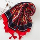 Fashion cotton and red red tourist seaside holiday sunscreen scarf NHGD158437
