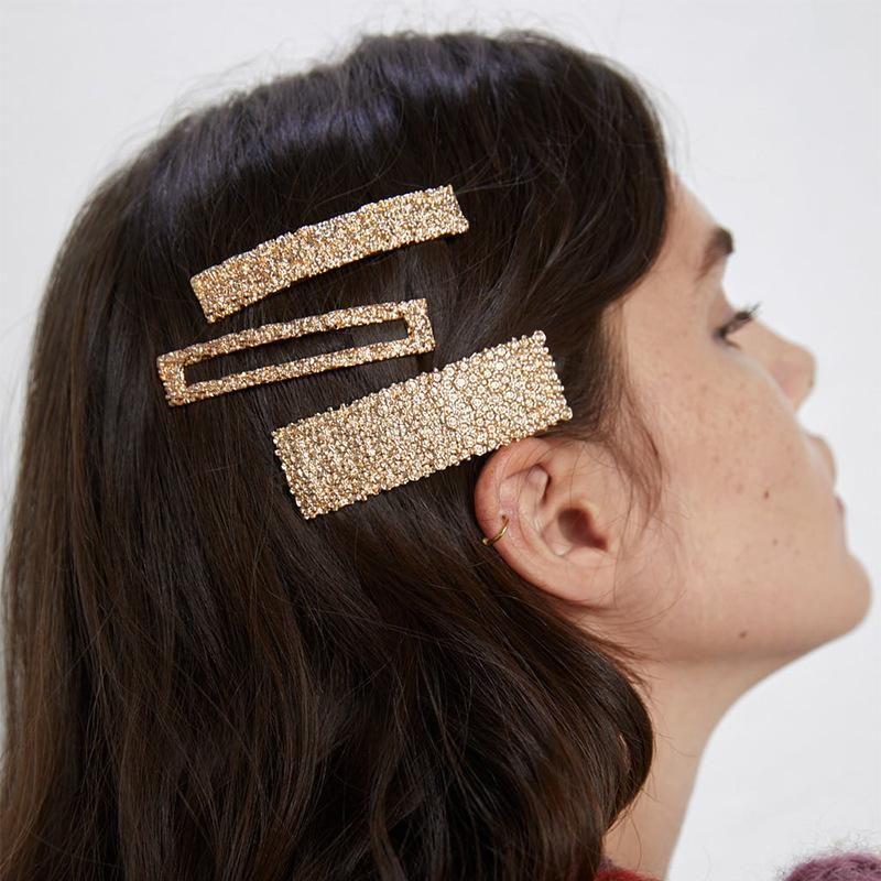 New sparkling diamond hair clip NHJQ170025