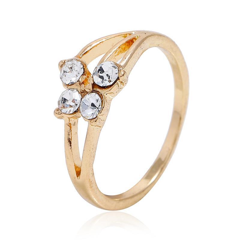 Fashion diamond ring NHKQ170175