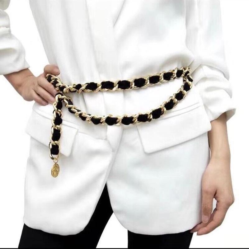 Vintage Sexy Tassel Pendant Body Chain Simple Multilayer Animal Waist Chain NHJJ170307