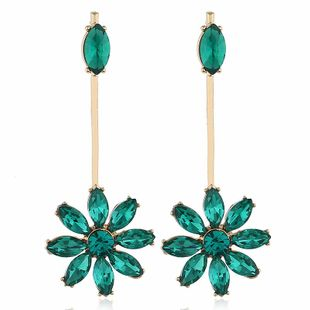 Retro new fashion alloy flower earrings NHVA170468's discount tags