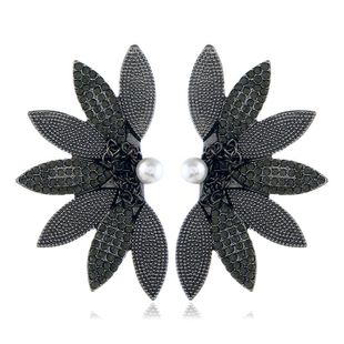 Fashion Fresh Pearl Wings Vintage Alloy Earrings NHVA170438's discount tags