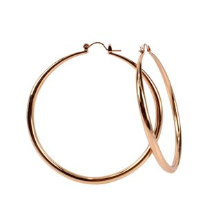 Personality simple earrings wholesale exaggerated jewelry big circle earrings earrings female gold silver European and American big earrings NHCT170404's discount tags