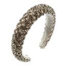 Fashion handstitched sponge crystal headband NHLN170046