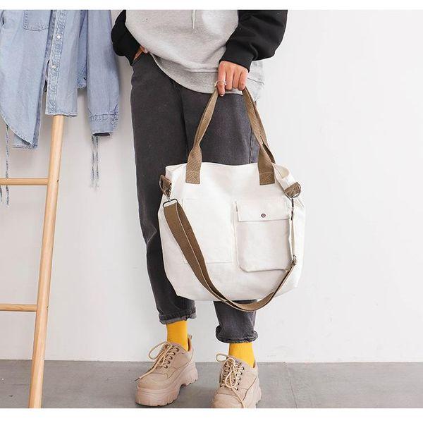Large-capacity solid color cross-body casual handbag NHXC170583