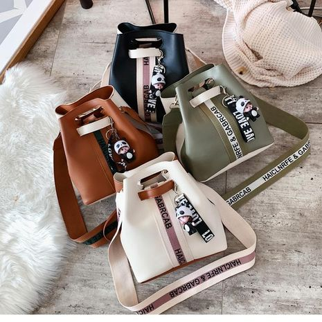 Korean version of the wild spell color with a shoulder bag NHXC170584's discount tags