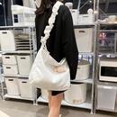 Cute little sheep hanging canvas bag student shoulder bag NHHX170576