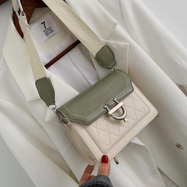 New chain small square bag fashion messenger bag NHPB170822