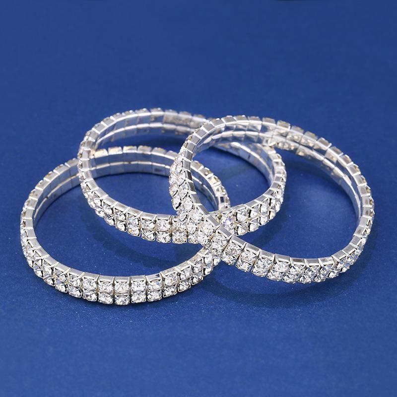Fashion crystal with rhinestone bracelet NHAS171006