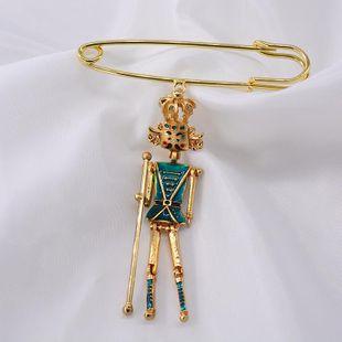 Broche de aleación de ropa de fijación de pin de moda NHNT171072's discount tags