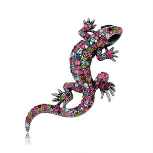 Classic European and American style fashion color animal brooch NHDR171098's discount tags