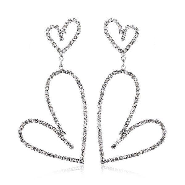 European and American fashion alloy diamond earrings NHVA171195