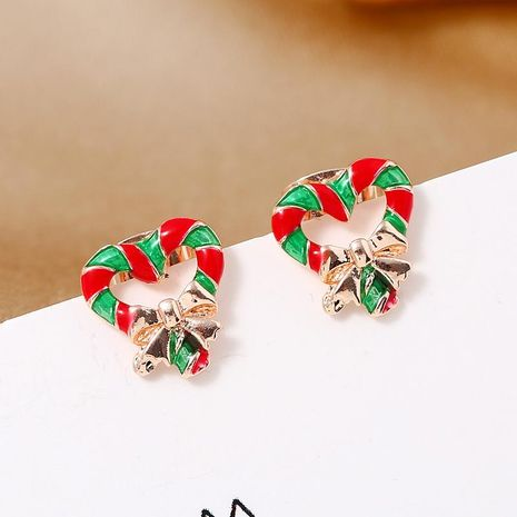 Simple fashion earrings candy color love Christmas gift earrings NHKQ171290's discount tags