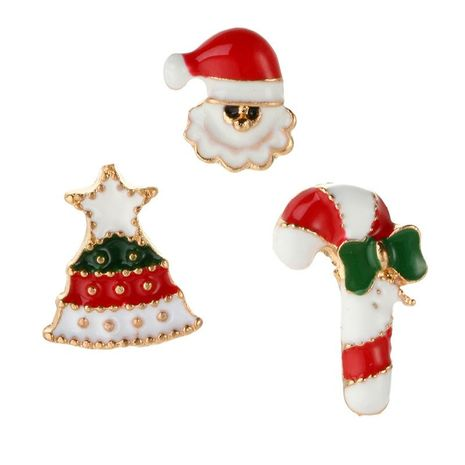 Creative Christmas Snowman Crutches Alloy Brooch NHGY171259's discount tags