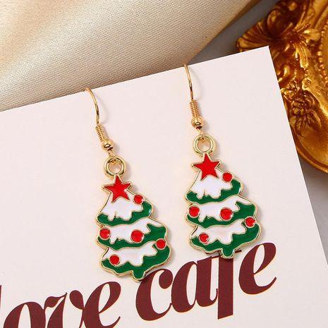 Sleek minimalist Christmas day jewelry earrings NHKQ171291's discount tags